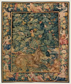 Galerie Deroyan, carpets, rug and tapestries Medieval Tapestry, Medieval Art, The Lovers Tarot Card, Art Gallery, Persian Carpet, Rugs On Carpet, Carpets, 16th Century, Wall Tapestry