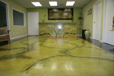 acid stained concrete | Ultra Surface Acid Stain floor