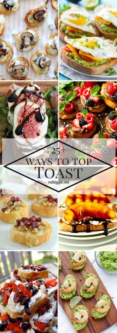 25+ Ways to Top Toas