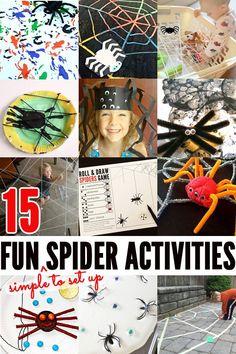 15 Simple Spider Activities