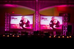 Head Table, we had two 8ft video screens behind the head table that played slideshows and videos during the night. Wedding Reception, JJDJ Entertainment