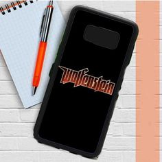Wolfenstein Logo Black Samsung Galaxy S8 Plus Case Dewantary
