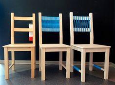 """Relooking des chaises IKEA """"Ivar"""" e """"Stefan""""! 20 exemples inspirants..."""