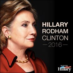 Stand with Hillary and Support Full Marriage Equality for All Americans Ready For Hillary Clinton for President 2016 Hillary For President, Hillary Clinton 2016, Bill And Hillary Clinton, Madam President, Hillary Rodham Clinton, Arkansas, Chelsea, Hair Icon, Women In History