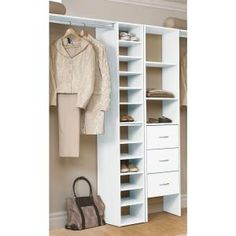 ClosetMaid Impressions 25 In. Deluxe Hutch Closet Kit 30880 At The Home  Depot Ideas For The Boys Closet Area.....I Reau2026 | Cameron Dean And Colter  Allen ...