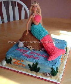 little girl birthday cakes | Coolest Homemade Little Mermaid Birthday Cake Ideas and Photos