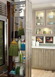 Amazing Broom Closet | Ideas For Home | Pinterest | Cabinets, Water Heaters And  Water
