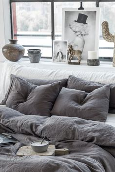 MagicLinen 2018 Fall collection - inspired by the concept of mindfulness, simplicity and elements found in nature. Cheap Bedding Sets, Bedding Sets Online, Affordable Bedding, Beige Bed Linen, Bed Linen Design, Cheap Home Decor, Bed Spreads, Linen Bedding, Comforter