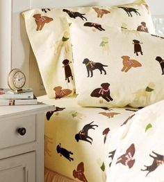 labrador bedding set