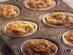 21 Day Fix - Autumn's Banana Apple Muffins