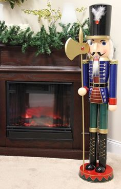 1000 images about i love nutcrackers on pinterest for 4 foot nutcracker decoration