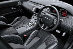 Sexy interior! I love quilted leather.