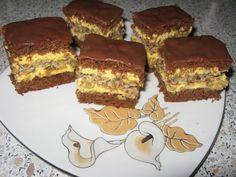 Prajitura care a innebunit planeta! Romanian Desserts, Romanian Food, Potluck Desserts, Delicious Desserts, Pastry Recipes, Cookie Recipes, Focaccia Bread Recipe, Different Cakes, Sweet Bread
