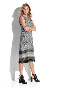 Sukienka od Amy's Stories, dostępna w dwóch długościach, http://www.halens.pl/moda-damska-rozmiary-specjalne-na-gore-5828/sukienka-bonnie-556232?variantId=556232-0207&imageId=393883 + modne, czarne buty http://www.halens.pl/moda-damska-obuwie-glany-i-kowbojki-5811/buty-570580?variantId=570580-0001&imageId=385899
