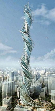 Strange Buildings you'd love to see - Wadala Tower - Mumbai, India