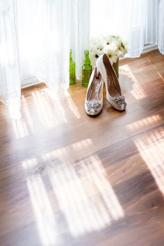 Glamourous Bridal Prep Inspiration, Old Hollywood Style