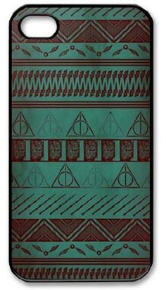 Harry Potter Tribal Print For Iphone 4 4s Case Cover ,For Apple Plastic Shell Hard Case Cover Protector Gift Idea:Amazon:Cell Phones & Accessories