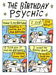Psychic Know-It-All