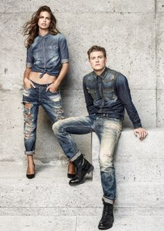 Salsa Fall Winter 2015 Campaign featuring Lauren Auerbach and Mikkel Jensen Couple Photoshoot Poses, Photoshoot Themes, Couple Shoot, Love Jeans, Jeans Style, Denim Jeans, Fashion Photography Poses, Couple Photography Poses, Graduation Picture Poses