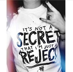 """5 Seconds of Summer 5SOS """"REJECTS"""" song Doodle T-shirt © Design by Euclea Tan by MXLoutfitters on Etsy"""