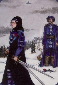 Three of Swords - Anna K Tarot