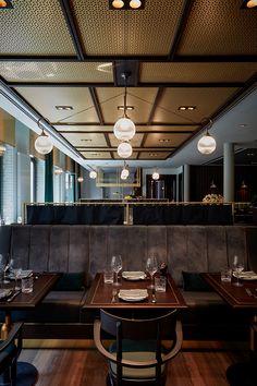 Top Restaurant: Hamburg kulinarisch im Design-Hotel TORTUE! Design Hotel, Restaurant Interior Design, Design Design, Cafe Design, Eclectic Design, Modern Interior Design, Restaurant Hamburg, Modern Restaurant, Chinese Restaurant