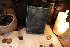 Skyrim replica Destruction Spell Tome by alarmeighteen on Etsy