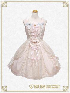 Baby, the stars shine bright Marie Antoinette Lace jumper skirt
