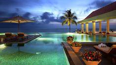 Luxury beach house in India