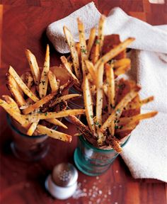 Oven Baked Parmesan French Fries!