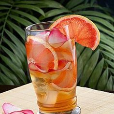 Grapefruit Iced Tea in Recipes on The Food Channel®