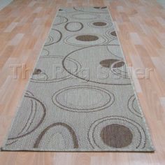 Orbit flatweave anti slip hallway runners in natural buy online from the rug seller uk Hallway Runner, Power Loom, Colours, Contemporary, Rugs, Runners, Stuff To Buy, Natural, Design