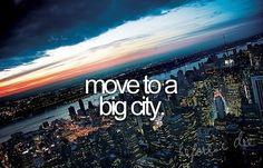 I absolutely love places like New York City, LA, Rome, Milan...Places that come alive at night