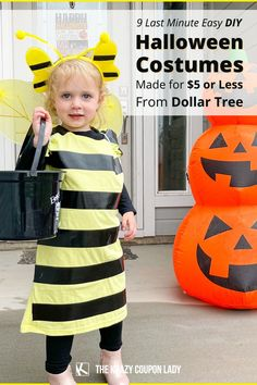 If you're looking for cheap, easy DIY Halloween costumes, Dollar Tree is where it's at. Dollar Tree has a variety of Halloween costume accessories, from ninja swords to fairy wings, but even unexpected $1 everyday items can be used. Things like colanders and sponges will go a long way this Halloween, especially if you're searching for creative last-minute costume ideas. It'll only cost you about five bucks! The Krazy Coupon Lady has the hacks and money-saving tips you need!