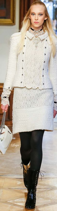 Chanel Pre-Fall 2015✿Laya