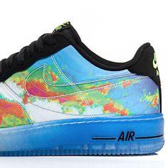 Nike Air Force 1 'Weatherman' Quickstrike 599457-100 Midnight Release (27/09/13)