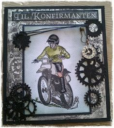 Sissel`s Hobbyrom Boy Cards, Kids Cards, Man Birthday, Birthday Cards, Steampunk Cards, Embossed Cards, Card Sketches, Masculine Cards, Card Tags