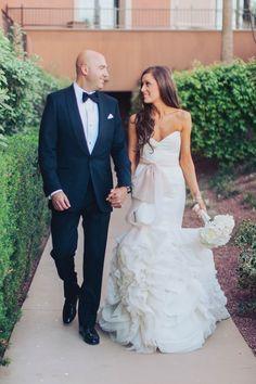 White and Ivory Las Vegas Wedding | J & J Photography