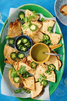 Good Food, Yummy Food, Mexican Food Recipes, Ethnic Recipes, Quesadillas, Aesthetic Food, Tex Mex, High Tea, Palak Paneer