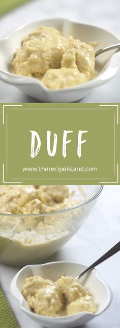 Learn how to make this authentic Duff recipe from the Bay Islands! Each step by step instructions for this classic island dessert. Jello Recipes, Pudding Recipes, Baking Recipes, Dessert Recipes, Tiramisu Dessert, Paula Deen, Best Dinner Recipes, Great Recipes, Recipe Ideas