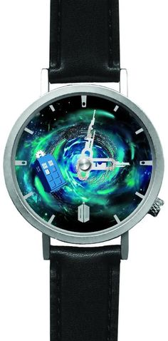 Doctor Who TARDIS Time Vortex Wrist Watch