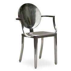 Silla DAMARA (Sillas metálicas) - Kong Sillas de diseño, mesas de diseño, muebles de diseño, Modern Classics, Contemporary Designs...