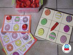 Heb jij dezelfde waar de pijl naar wijst? Easter Games, Working With Children, Cool Kids, Kids Work, Easter Bunny, Montessori, Diy And Crafts, Kindergarten, Kids Rugs