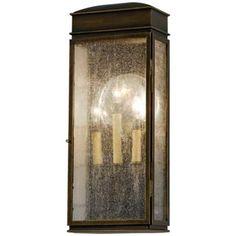 "Vintage Collection 16"" High Bronze Outdoor Wall Light - #W9936 | LampsPlus.com"