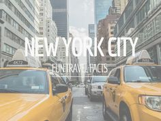 Fun travel facts New York City: 11 fun facts over New York City die je waarschijnlijk nog niet kent.