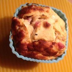 Frischkäse-Ei-Muffins mit Speck (Dukan PP)