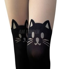 956cee76cb7 AM Landen - AM Landen Japanese Style Sexy Mock CAT with Tail TIGHTS  Pantyhose - Walmart.com
