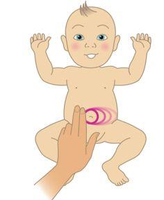 Colique du nourrisson: Massages et exercices