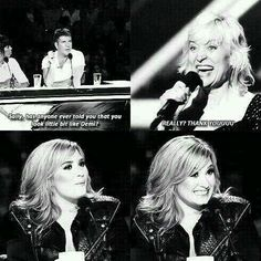Demi XF luv her face here