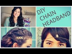 How to make your own chain headband! DIY